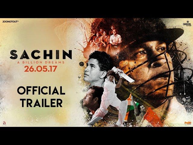 Sachin A Billion Dreams Official Trailer | Sachin Tendulkar | New Hindi Movie