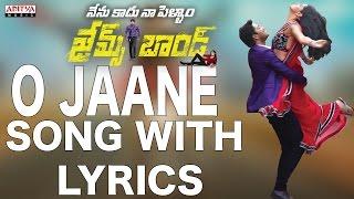 O Jaane Jaana Full Song With Lyrics - James Bond   - YouTube