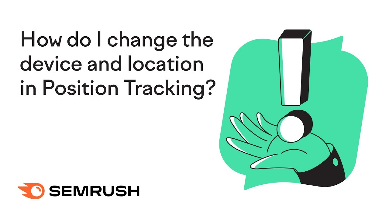 How do I change the device and location in Position Tracking? image 1