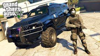 GTA 5 Игра за Полицейского #14 - СПЕЦНАЗ!! (ГТА 5 МОДЫ LSPDFR)