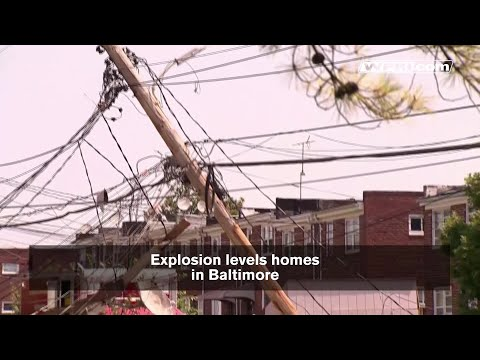 VIDEO NOW: Official, eyewitness on Baltimore explosion
