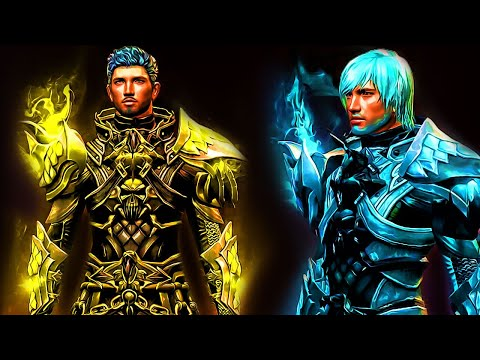 Guild wars 2- Requiem Armor Dye Channels - смотреть онлайн на Hah Life