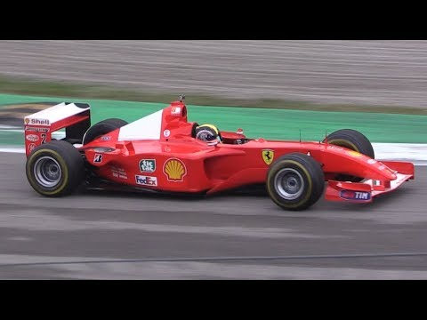 Ferrari F1 V10 Epic Sound at Monza Circuit-F2003 GA,F2001, F300 & More