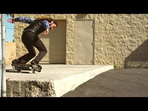 Richie Jackson pulls the most inventive skate tricks