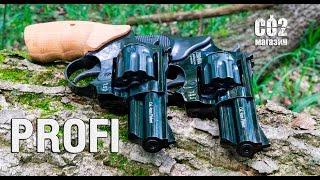 """Револьвер PROFI 3"""" бук от компании CO2 - магазин оружия без разрешения - видео 2"""