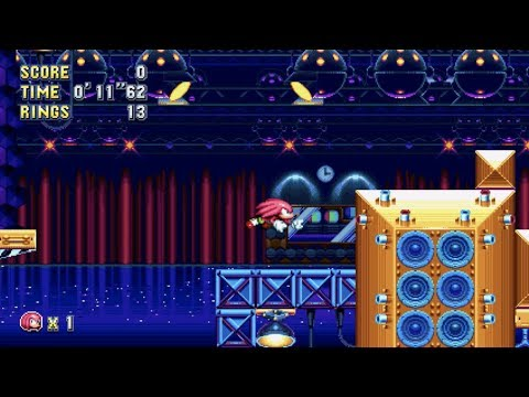 Sonic Mania: Flying Battery Zone Act 2 (Knuckles) [1080 HD
