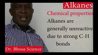 Alkanes part 1 of 2 by Dr. Bbosa Science