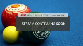 Just. 2019 World Indoor Bowls Championships: Day 16 Session 2
