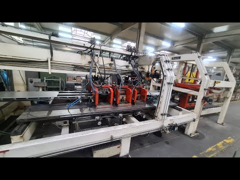 Sheet Metal Profiling Line WEMO 800x1500 mm 2015