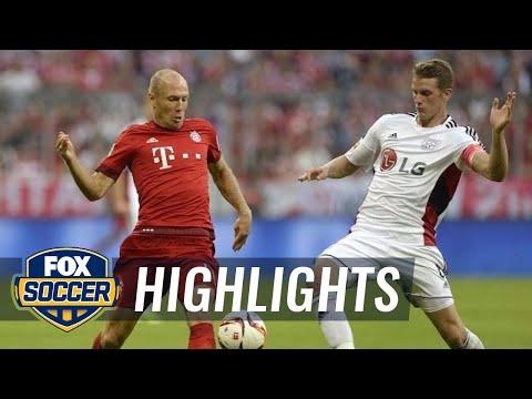 El compacto de la goleada del Bayern Munich de Pep Guardiola (3-0 al Leverkusen)