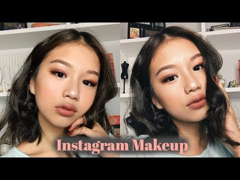 BURGUNDY INSTAGRAM MAKEUP (ASIAN/HOODED EYES)