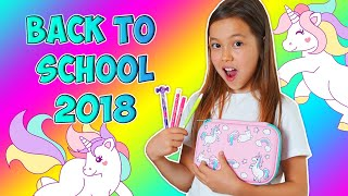 BACK TO SCHOOL 2018/Мои Покупки К Школе Моя UNICORN Канцелярия