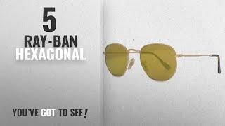 b0b47a78ac Ray-Ban RB3548N Hexagonal Flat Lenses 1 sunglasses - Free video ...