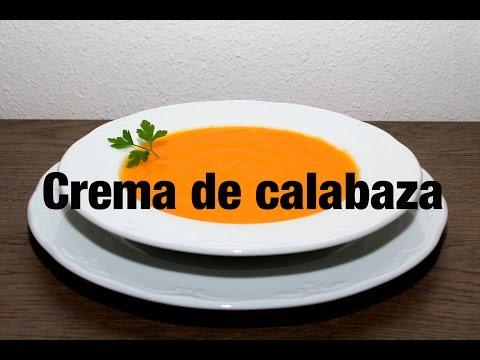 Crema De Calabaza - sana facil y rapida