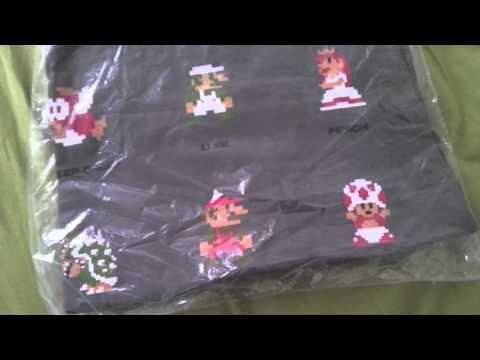 Club Nintendo Super Mario 8-Bit T-Shirt Review