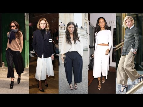 How to Wear Culottes | Celeb Style