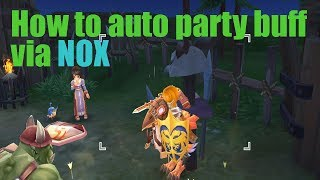 Ragnarok Mobile How to auto party buff