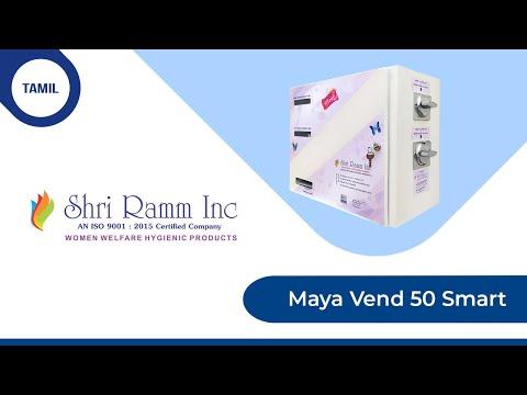 Manual Rotating Sanitary Napkin Vending Machine