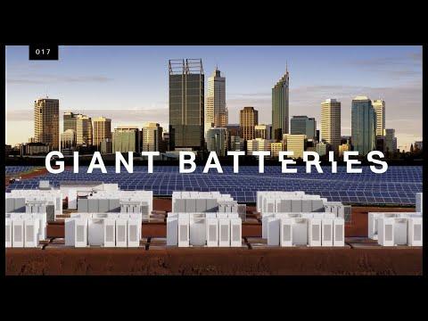 Proč Tesla vyrábí velkokapacitní baterie pro rozvodné sítě