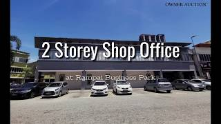 [Owner Auction™] 2 Storey Corner Lot Shop Office at Rampai Business Park
