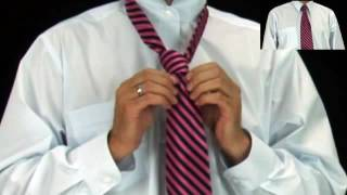 How to tie a tie- Simple Knot