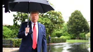 """President Trump contradicts Barr, says he's """"not involved"""" in firing of US Attorney Geoffrey Berman"""