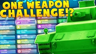 ONE WEAPON CHALLENGE VS TEWTIY!?