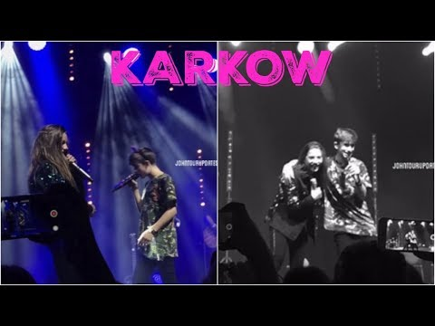 EUROPE TOUR KRAKOW, POLAND | MACKENZIE ZIEGLER AND JOHNNY ORLANDO