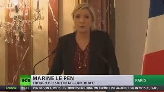 Le Pen: Finish with bureaucratic monster, artificial construction called the EU