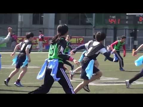 2019 第9回エキスポフラッシュカップ 大阪市立喜連小学校vs西宮市立段上西小学校 フラッグフットボール大会