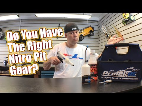 Be Preppared To Pit - Here's What You Need For Nitro Racing Pit Stops