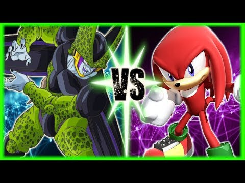Perfect Cell Vs Knuckles