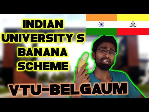 Banana Scheme- Visvesvaraya Tech University- VTU