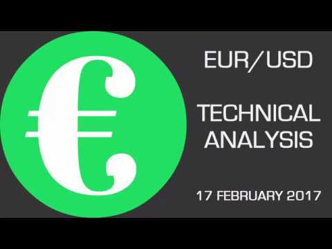 EUR/USD: Breaking Above a Week-Long Bearish Trendline  —  Forecast — February 17th 2017
