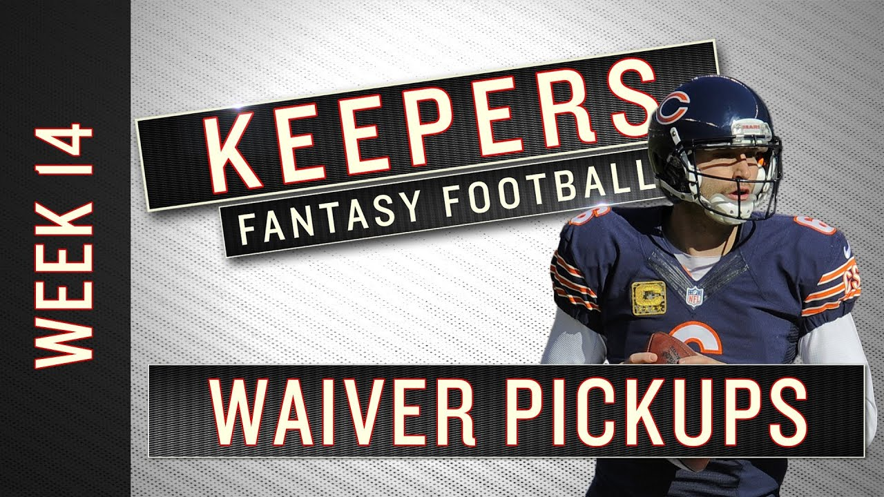 Fantasy Week 14 Waiver Wire Pickups - Keepers thumbnail