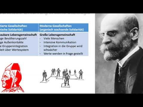 Émile Durkheim: Einführung in seine Soziologie