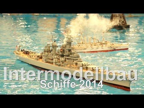 Intermodellbau 2014 // RC Ships // Warship // Zerstörer // Flugzeugträger