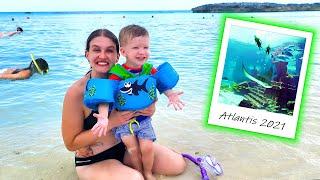 Snorkeling the Ruins in Atlantis Bahamas!!!