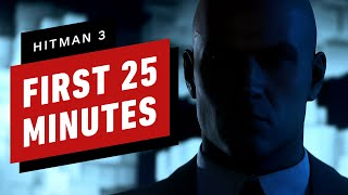 The First 25 Minutes of Hitman 3 Gameplay in 4K60 by IGN