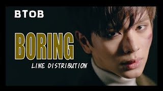 BTOB - BORING Line Distribution