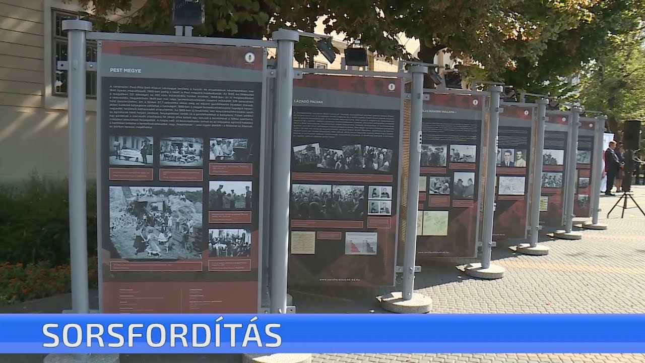 A nagykőrösi kiállításról szóló videóösszeállítás