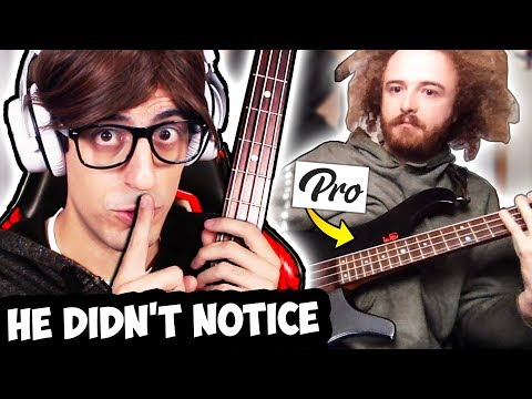 I Hired PRO Bass Teachers and Pretended to be a BEGINNER...