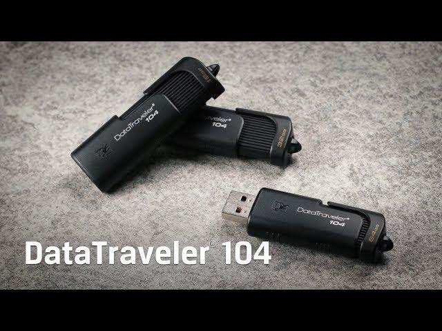 USB 2.0 Flash Drive 32 GB Kingston DataTraveler 104