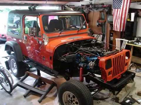 1991 Jeep Wrangler YJ - Part 2 - Frame Off - Rebuild 2009