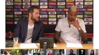 Hangout con Kevin-Prince Boateng (14/05/2013)
