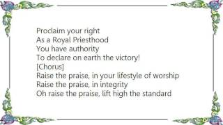 Judith Christie McAllister - Raise the Praise Lyrics