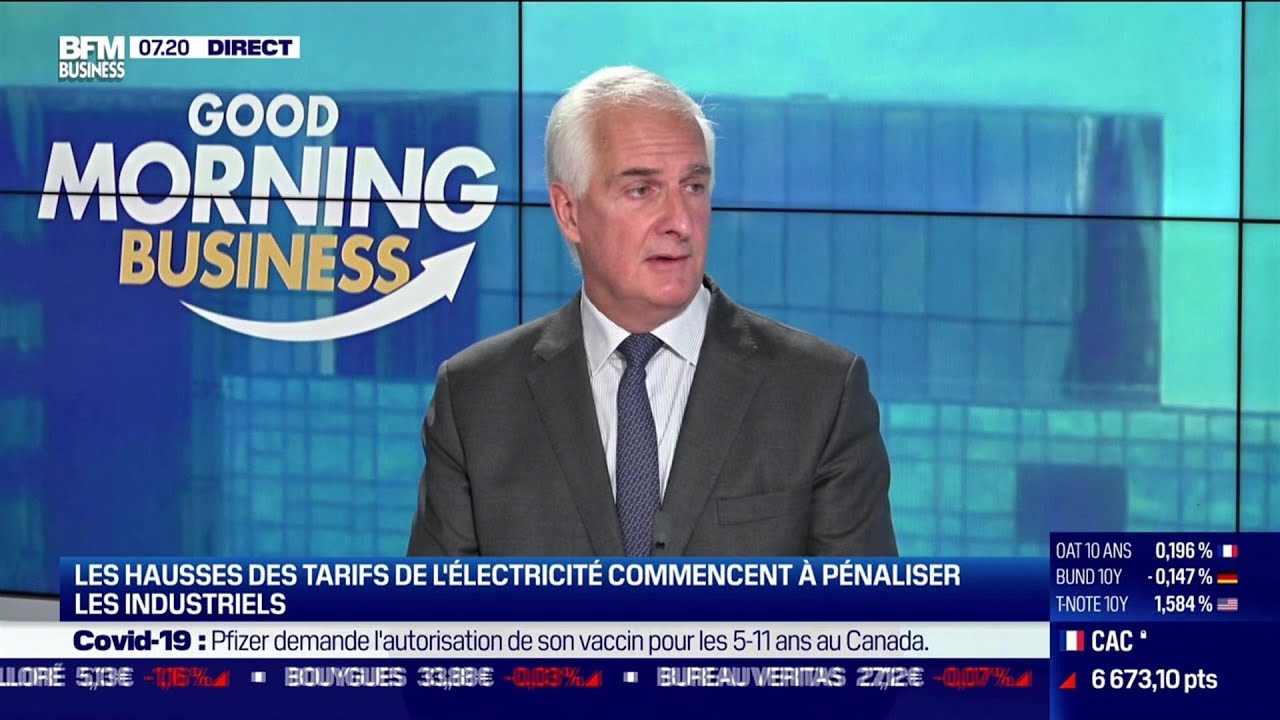Nicolas de Warren (Unidec) : Hausse des tarifs de l'énergie pour les industriels