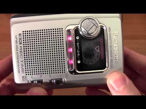 Presentazione registratore a cassette Panasonic RQ L31