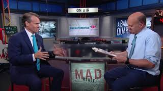 Bank of America CEO: Online Banking Growth | Mad Money | CNBC