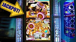 ArcadeGameCoinPusherJackpotCookieMaster!アーケードゲーム大当たり